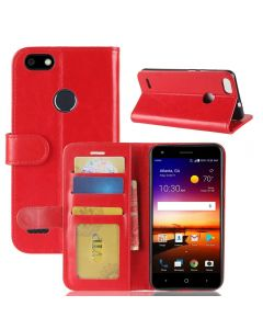 ZTE X Z965 /Force N9517 Flip Folio Leather Wallet Case with ID and Credit Card Pockets
