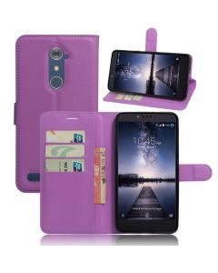 ZTE ZMax Pro Phone Case Wallet Flip Cover Folio Leather Case Stand Display Card Pocket