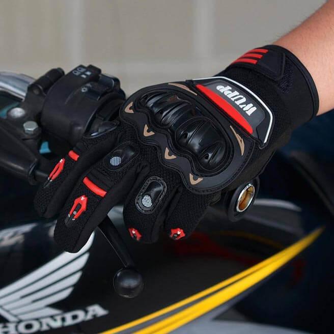 Bike Full Finger Summer Gloves Touch Screen Unisex Riding