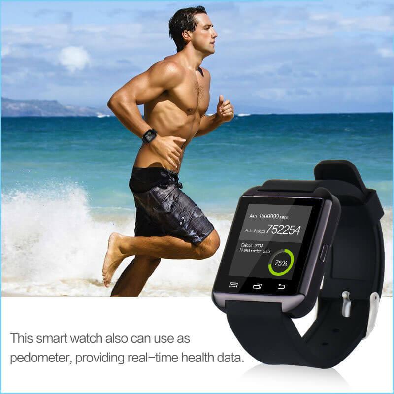 TTLET U8 waterproof bluetooth Smart watch